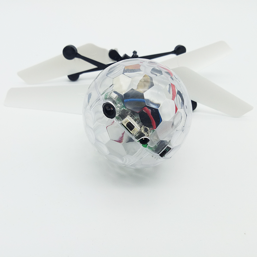 Custom RC light up helicopter Induction flying ball Toys for Kids Christmas Gift