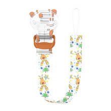 Exclusive Design Bpa Free Pet Personalized Giraffe Pacifier Holder