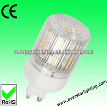 CE RoHS Compliant 3.5W 24pcs 5050SMD 360Degree G9 Led Light Bulb