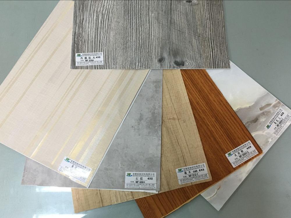 Melamina carta decorativa per mobili in legno bordo - Carta adesiva decorativa per mobili ...