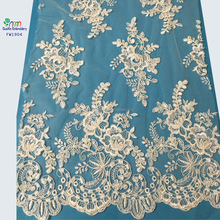 2016 wholesale French garment accessory /embroidery lace fabric for wed