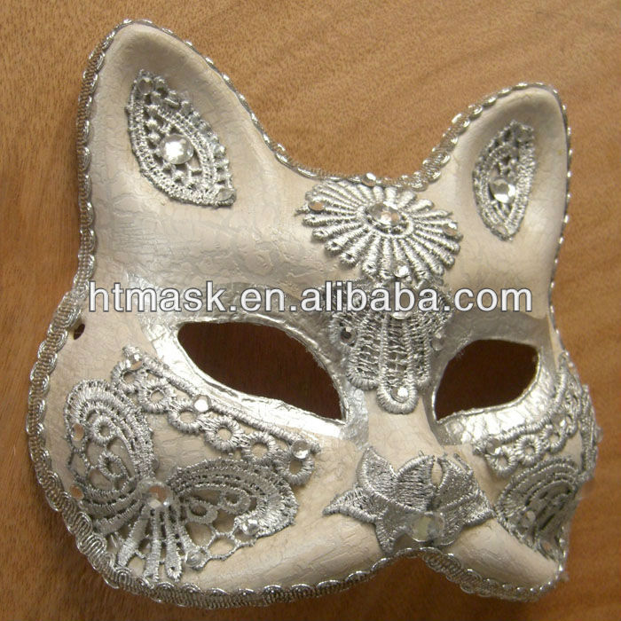 Carnival Paper Mache Masks For Women Masks