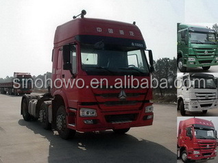 SINOTRUK HOWO 6X2 Tractor Truck For Export With Skillful Manufacture
