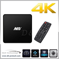Smart TV Box full hd 2016 hot 4k ultra output android tv box manual
