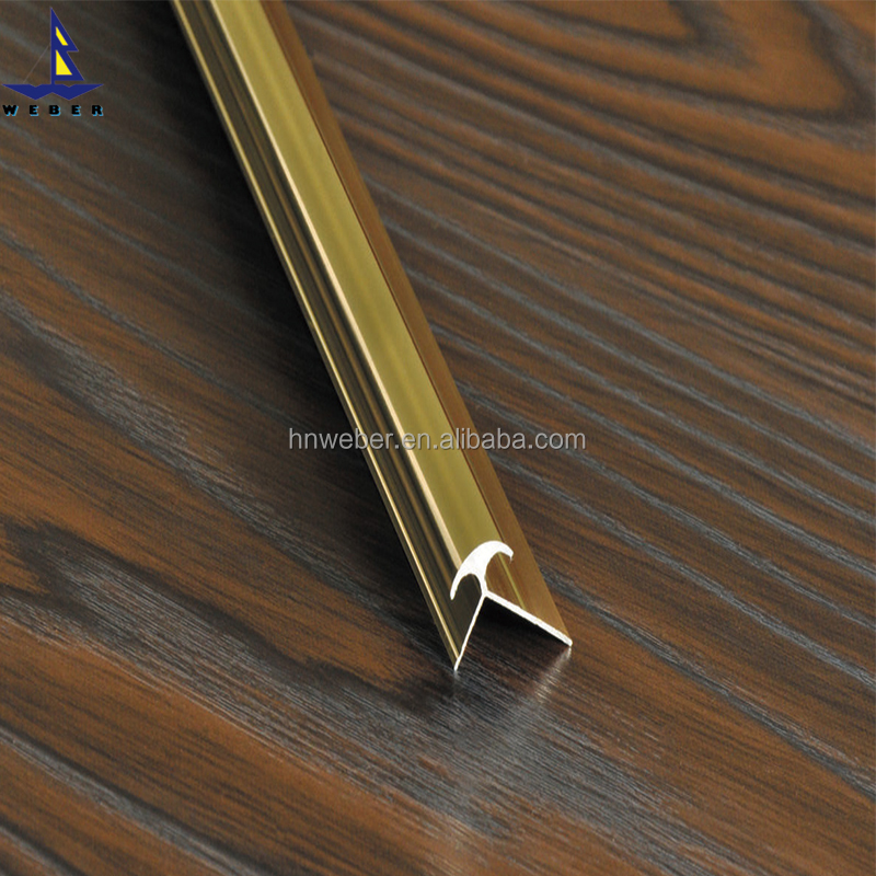 UV panel building materials decorative lines aluminium alloy corner