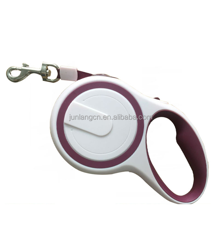 Wholesale hands free retractable dog leash pet product automatical adjustable dog leash