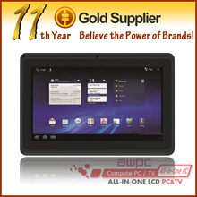 Dual camera 7 inch android os dual core 1GHz hot sale tablet pc in taiwan