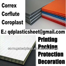 4mm White PP Coroplast Sheet