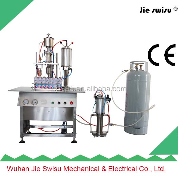 butane gas valve gas filling machine