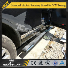 Aluminal alloy diamond electric Running Board for VW Toureg 2011up