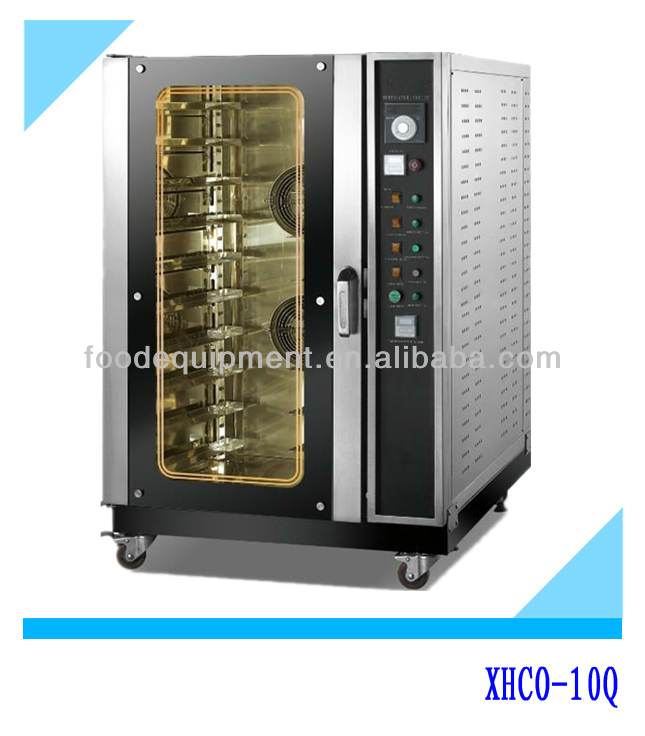 10 Trays Gas Hot-air Convection Oven