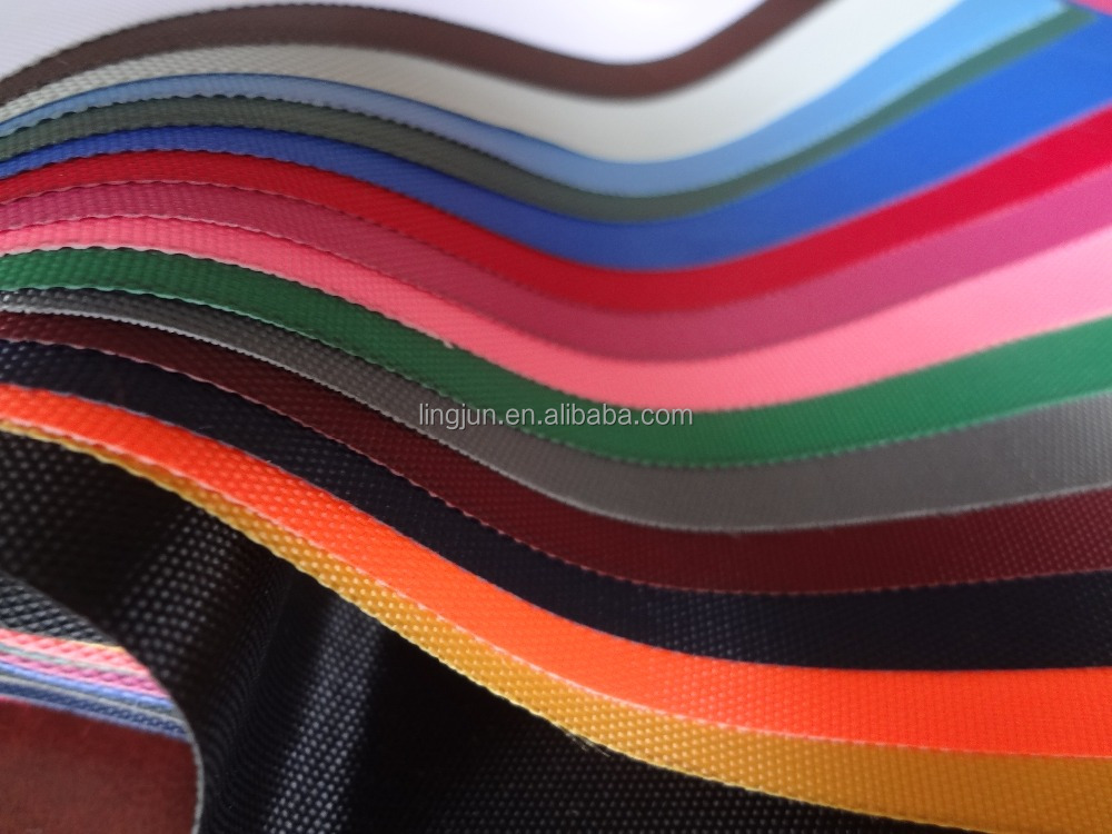 fabric factory produce polyester oxford fabric, 420D fabric coated with PVC, fresh color&good quality
