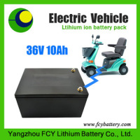 Wholesales LiFePO4 rechargeable battery pack 36v10ah for electric solar systems