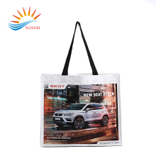 LNWB-008 waterproof ultrasonic die cut reusable pp non woven tote bag