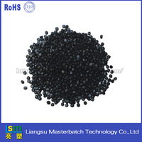 pp/hips granules eco-friendly carbon black masterbatch for sheet