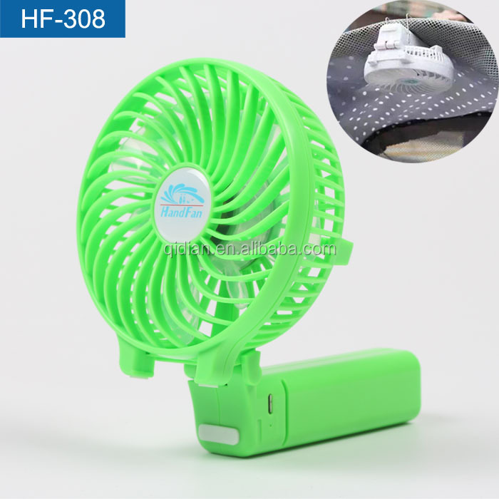 Big Wind Foldable 18650 Battery Rechargeable Electric Standing Fan For Summer Mountain-Lovers