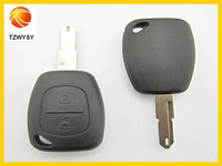 2 button auto remote key shell for renault & car remote key cover