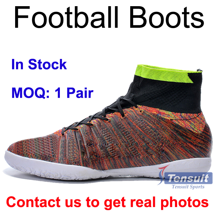 New arrival grade original top quality 1 piece wholesale cheap football boots