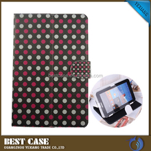 universal leather cover custom design flip case for 7 inch tablet
