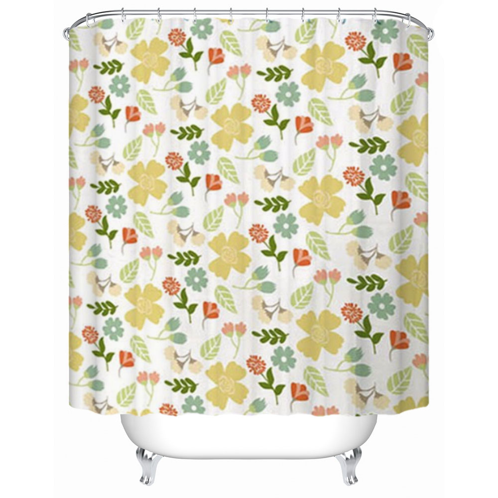 Home goods shower curtains with plastic hook
