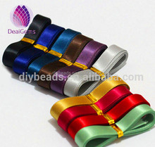 10mm [polyester satin ribbon for DiY bow