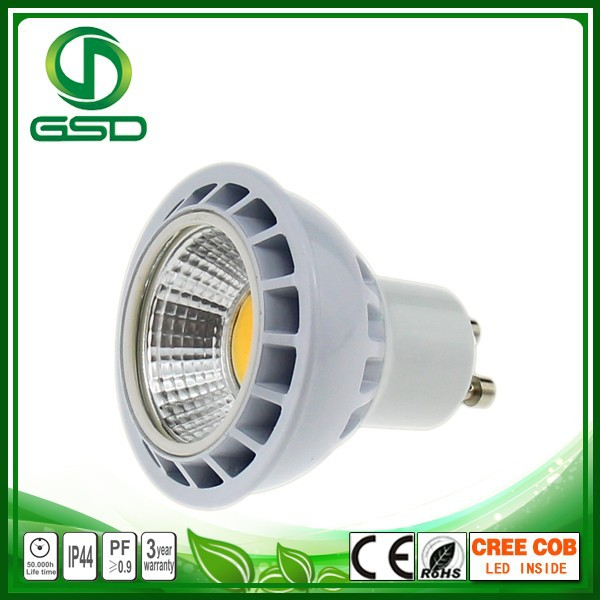 lifi technology gu10 gu5.3 hunting spotlight cob mini led 3 watt