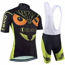 BXIO Custom Cycling Wear Mountain Bike Design Pro Bike Jersey Custom Short Sleeves Bicycle Clothing BX-0209H036