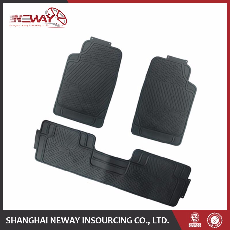 Hot sell PVC/Plastic rubber car foot mat