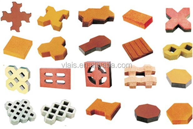 brick making machine, semi-automatic block making machine