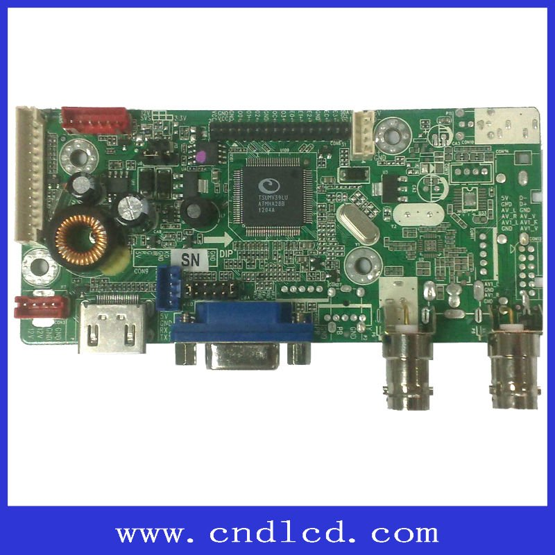 Hot Selling TV Board Max Supports FULL HD 1920X1200 Resolution TFT-LCD Screen Used For Cars And Industrial Monitors