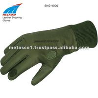 Leather Shooting Gloves, Shooting Vest, Hunting Gloves