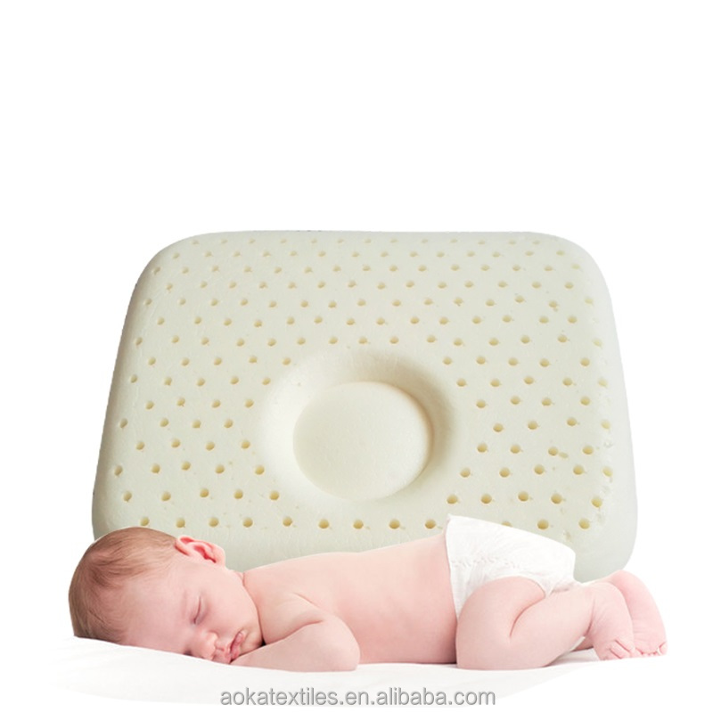 Natural latex baby lying pillow suitable(0-3 years)