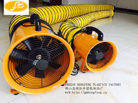 Axial Portable ventilator blower fan use for factory ,container loading fresh cool air exhause