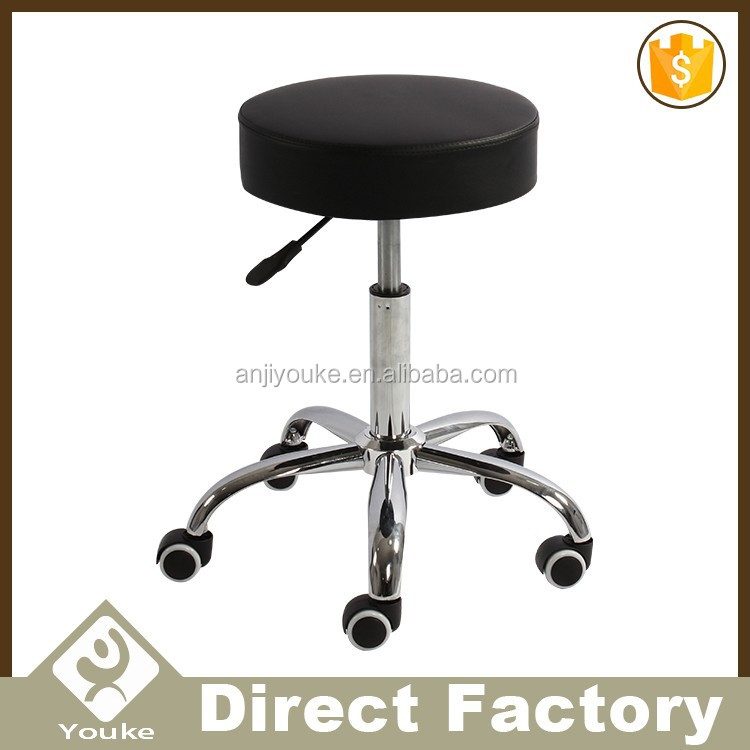High quality modern round head laboratory stool