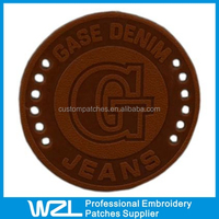 Leather Embossed Label/Leather Label/Jeans Leather Label