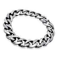 Classic Style Vintage Mens Famous Brand Stainless Steel Bracelets For Man Never Fade Wholesale Retail No Rust No Allergies