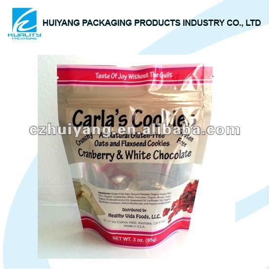 Hot!!Top quality stand up pouch with zipper for wholesale tea packaging