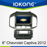 Touch sreen car dvd player for Chevrolet Captiva 2012 with ipod , iphone , gps , radio ,tmc/rds