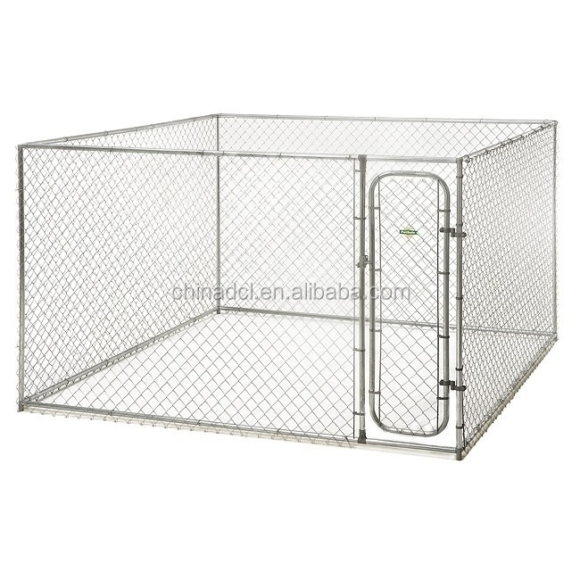 China factory supply Chain Link Fence Dog Run/dog house and kennel