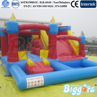 Inflatable Bouncy Castle Water Slide Pool Combo Inflatable Game