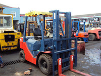 3ton toyota forklift with isuzu engine for sale, used toyota 3ton forklift price