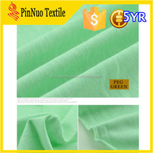 2015 hot sale cheap cotton polyamide elastane fabric for t shirt and garment