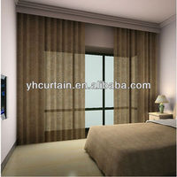 one layer manual bedroom curtain