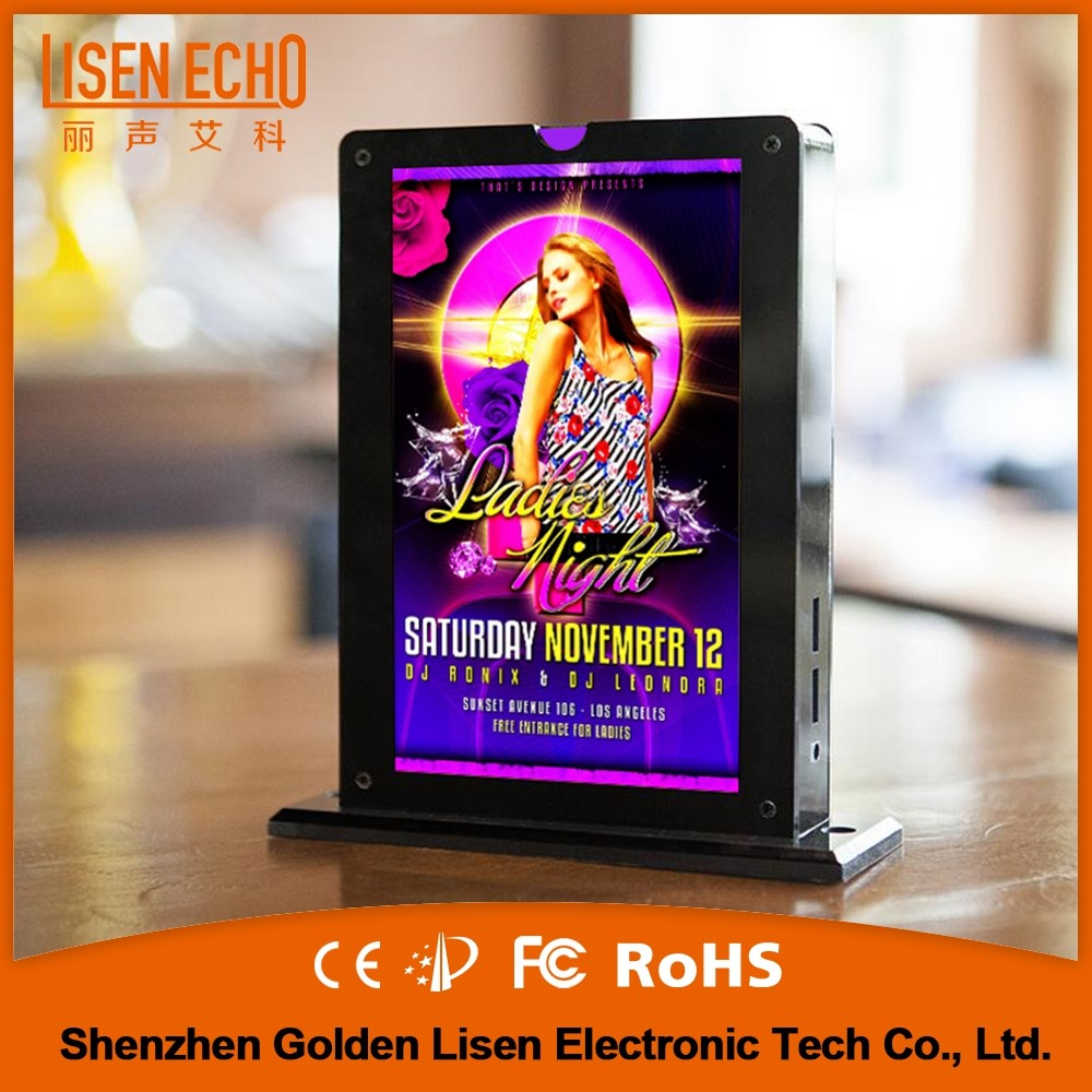 Superior quality usb smartphone charger led advertising display
