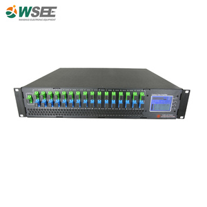 ftth olt 4 pon edfa optical amplifier with mux wdm