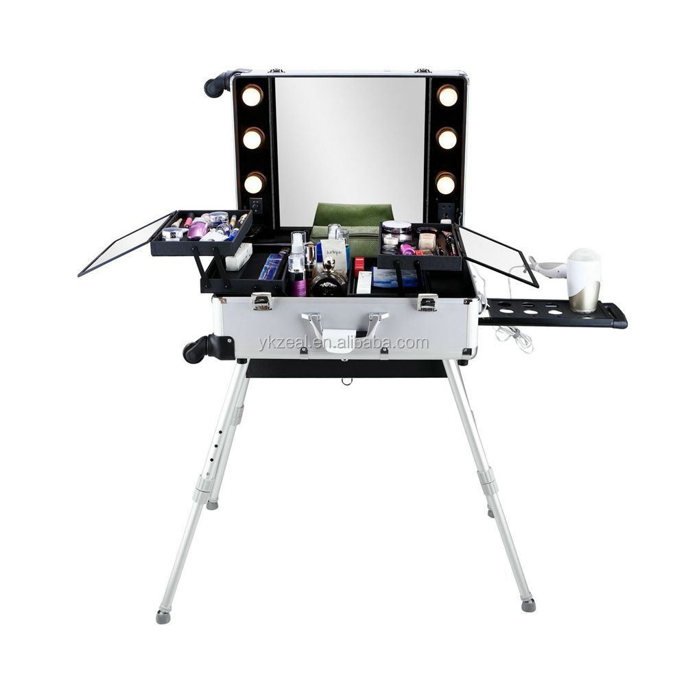 zeal 201 professional makeup train case