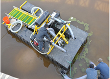 portable gold dredger used gold dredge