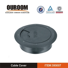Top Quality New Design Round Hard Plastic Cable hole cover