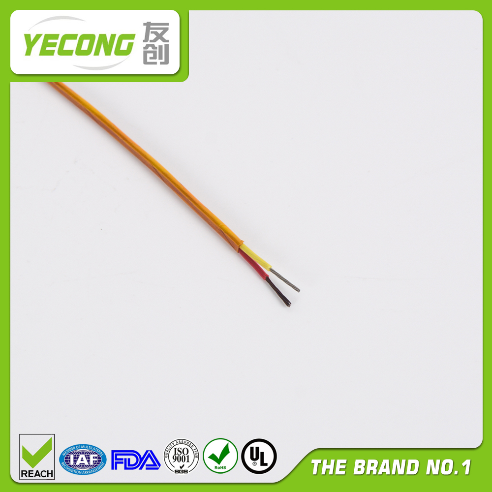 Thermocouple Compensation Cable Type K Polyimide Insulated
