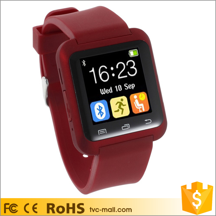 U80 Bluetooth Health Sport Smart Watch for Android Phone